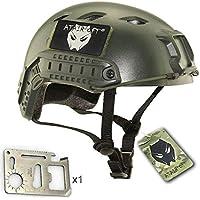 Worldshopping4U casco de Airsoft SWAT, BJ, de DE/FG/OD, OD verde