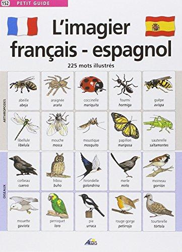 L'imagier français-espagnol : 225 Mots illustrés par Henri Medori