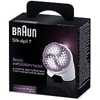 Braun Silk-Épil 7 SE791 Tête Exfoliante Sonique pour Épilateurs Silk-Épil 7 Technologie Wet/Dry