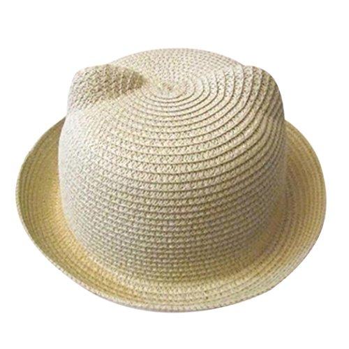Baby Sonnenhut,OYSOHE Neueste Sommer Baby Hut Kappen Kinder Breathable Hut Strohhut Kinderhut Jungen Mädchen Hut Kappen