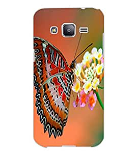 SAMSUNG GALAXY J2 BUTTERFLY Back Cover by PRINTSWAG