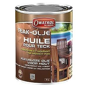 Owatrol Teak -Olje Huile pour Teck 1 L