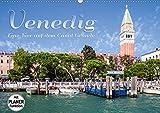 VENEDIG Eine Tour auf dem Canal Grande (Wandkalender 2020 DIN A2 quer): Von San Marco Vallaresso bis Piazzale Roma (Geburtstagskalender, 14 Seiten )