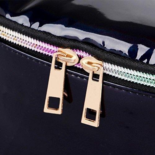 Bzline® Cintura Unisex Cintura Set Sport Borsa Borsa Borse A Tracolla Nero