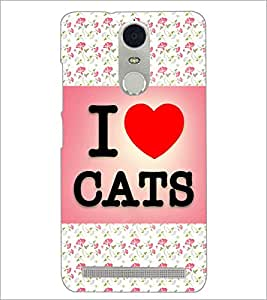 PrintDhaba Quote D-4348 Back Case Cover for LENOVO K5 NOTE (Multi-Coloured)