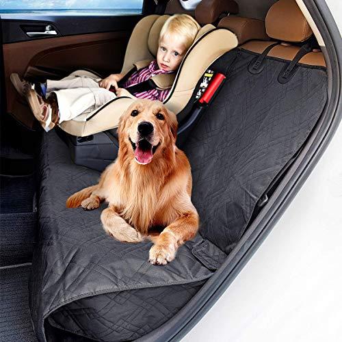 MATCC Hundedecke Autoschondecke Rückbank Sitzbezug Für Kinder/Baby/Haustier Wasserdicht Autositzbezug Autositz Abriebfest Hund Sitzbezug Autoschutzdecke Hunde Auto Hundedecke Hunde Autoschondeck -
