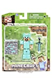 Minecraft 16504 - Diamond Steve con Accessori