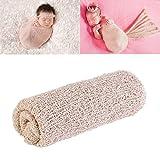 Tinksky Photographie de nouveau-né bébé mignon images Prop photographie nouveau-né les accessoires Wrap (Beige)...
