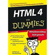 HTML 4 fur Dummies