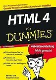 HTML 4 für Dummies