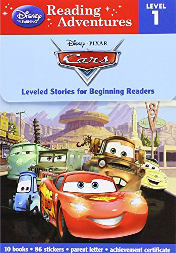 Reading Adventures Cars Level 1 Boxed Set [With 86 Stickers and Parent Letter, and Achievement Certificate] (Reading Adventures, Level 1) por Disney Book Group