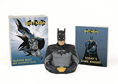 Zoom IMG-1 batman talking bust and illustrated