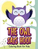 The Owl Says Hoot (Owl Coloring Book for Children 1) by Jenny Teal (2015-12-15)