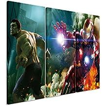 Marvel Avengers-superheroes lego Montar Foto Poster//cuadro Lienzo Impresión