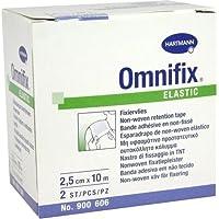 Omnifix elastic - 2,5 cm x 10 m - 2 Rollen - PZN 01316515 - (2 Stück). preisvergleich bei billige-tabletten.eu