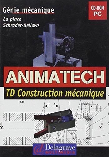 CD-Rom Animatech : TD Animatech, numéro 4 : Le Robot ERICC - La Pince Schrader, lycées techniques (CD-Rom) par P. Fiévet, J.-L. Péron, J. Piglia