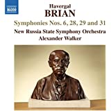 Brian:Symphonies 6,28,29,31 [New Russia State Symphony Orchestra, Alexander Walker ] [NAXOS: 8573408]
