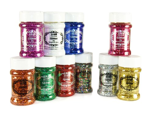 brain-clegg-glitter-standard-and-special-colours-10x40g-assorted-pack
