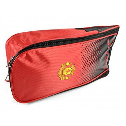 Manchester United FC - Ufficiale - Borsa porta-scarpe Rosso/Nero