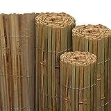 Sol Royal Frangivista frangivento di bambú per giardino & balconi SolVision B89 140x600 cm protezione naturale privacy
