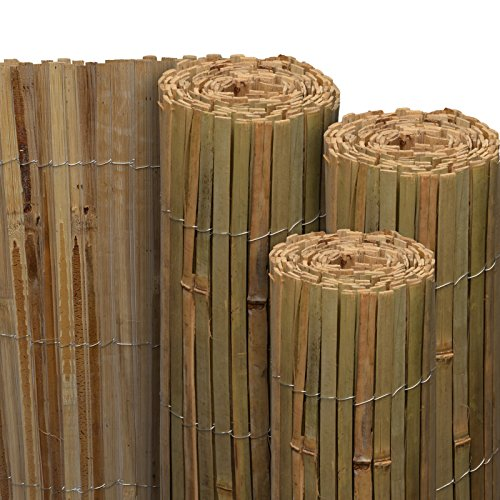 Sol Royal Sichtschutz Bambus SolVision B89 90x600 cm Sichtschutzmatte Natur als Wind- & Blickschutz für Garten & Balkon