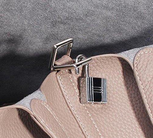 Lässige Eimer Tasche Mode Mini Weiblichen Kohl Korb Klassische Handtasche Einfach Wild Black