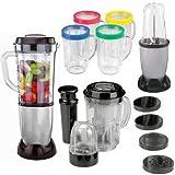 Juicers Blenders Best Deals - Sentik 17pc Multi-Attachment Blender Chopper Food Processor Juicer Smoothie Maker Kitchen Mixer