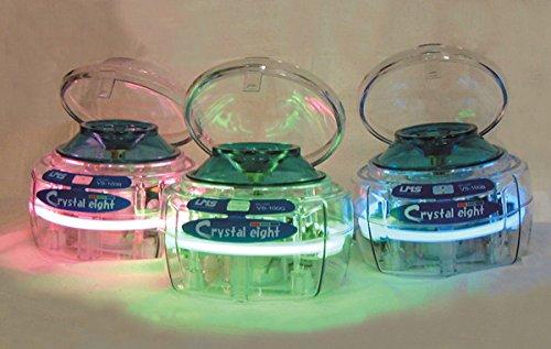 DUTSCHER 079039 Mini Crystal-Centrifuga, con luce al neon, colore: verde