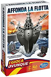 Hasbro Gaming - Affonda la Flotta Travel (Gioco in Scatola), B0995103