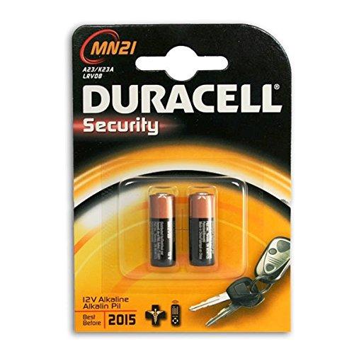 2x Duracell Long Lasting Alkaline Batterie 1,5V LRV08 MN21MN 21, LR 23, LRV 08, V 23 GA, 4223; Einwegbatterie Fernbedienung Fotobatterie