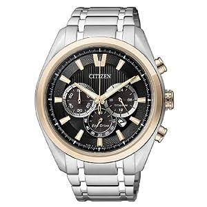 Citizen Super Titanium - Reloj de Cuarzo para Hombre, con Correa de Titanio, Color Plateado 9