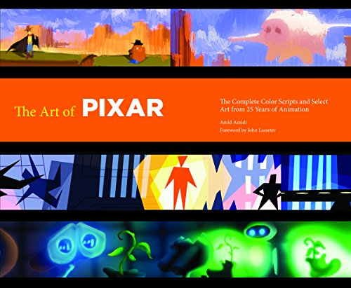 The Art of Pixar: The Complete Color Scripts and Select Art from 25 Years of Animation