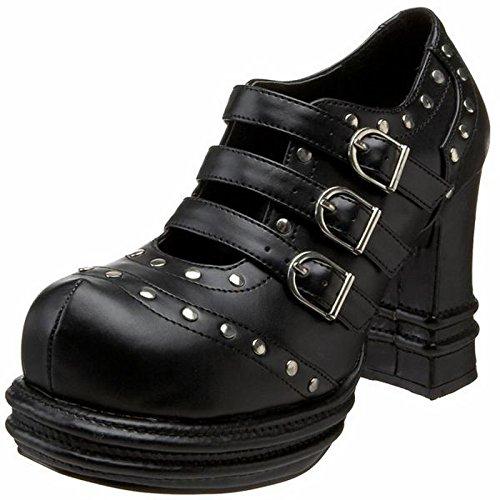 Demonia Vampire-08 - scarpe gotiche punk Industrial plateau 36-43, US-Damen:EU-40/41 / US-10 / UK-7