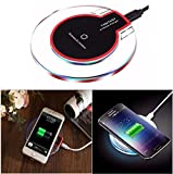 #4: Aironx™ Wireless Charging Pad/Wireless Charger for iPhone 8/8 Plus iPhone X Samsung Galaxy Note 8/S9/S9+/S8 Plus/S8 Galaxy/S7/S7 Edge/LG/V30+