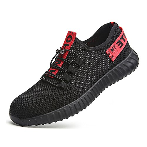 a0795ae133db2 CHNHIRA Chaussures de Sécurité Homme Embout Acier Protection Léger Basket  Chaussures de Travail U