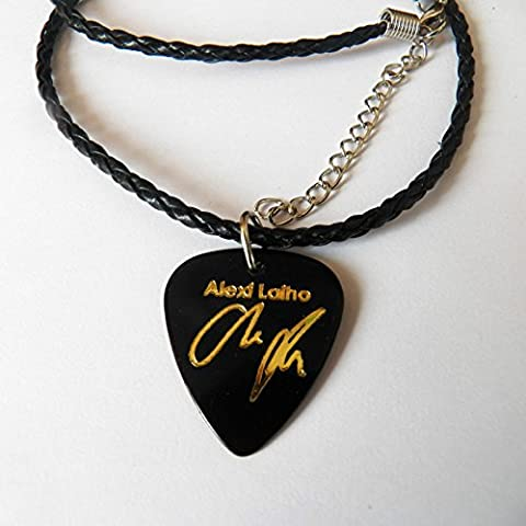 ALEXI LAIHO Guitar Picks signature gold stamped 20