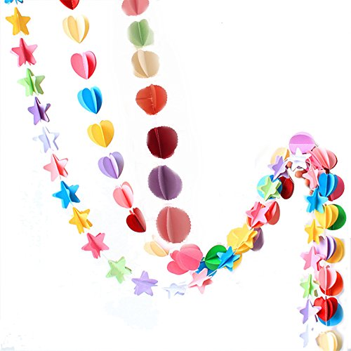 TOOGOO Bunte Papier Gezogen Navidad Dekoration Blume Hochzeit Kulissen Party Baby Dusche Geburtstag Party & Dekoration Festival DIY