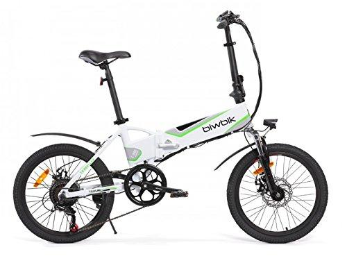 Vélo électrique Pliant Mod. Traveller (Blanc Batterie 12Ah)