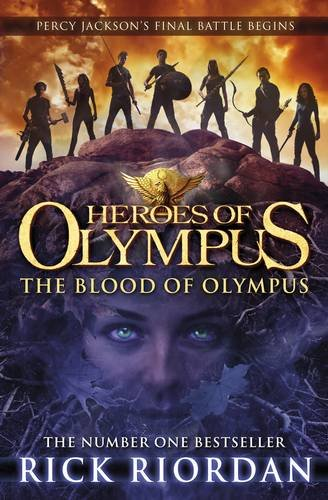 The Blood of Olympus (Heroes of Olympus Book 5) Cover Image