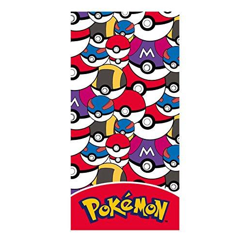 Serviette de plage Pokémon Pokeballs Kid