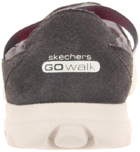 Skechers GO Everyday Damen Geschlossene Ballerinas Grau (Char)