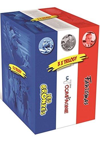 Coffret Francais 9 DVD: Fantomas - Trilogie / La 7eme Compagnie - Trilogie / Les Bronzes l'Integrale [Coffret 9 DVD]