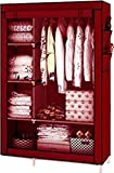#9: Maison & Cuisine 4+1+1 Layer Fancy And Portable Foldable Closet Multipurpose Wardrobe (Need To Be Assembled) 105Nt