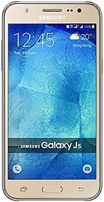 Samsung Galaxy J5 (2016) J510FN/DS (dorado) - Dual Sim, 16GB, 4G, 1.2GHz Quad Core Processor, 13MP AF + 5MP Front Flash Modelo Europeo