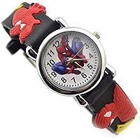Denis Ftomov - Reloj de pulsera para niño (reloj de acero inoxidable y correa de