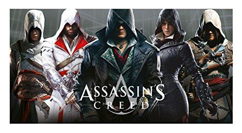 Assassins Creed Handtuch, Mehrfarbig