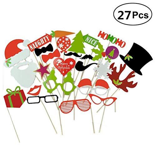 toautomaten Requisiten DIY Foto Zubehör für Weihnachten Party ()