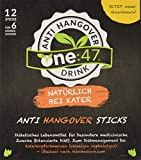 one:47 ® After Party Drink | 12 Sticks | Feel good next day | Die originale geschützte one 47 Formel