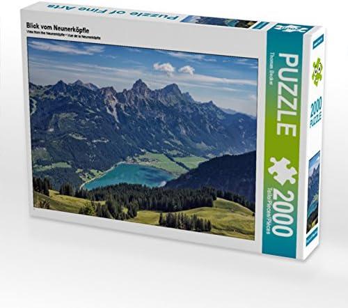 CALVENDO Puzzle Blick vom Neunerköpfle 2000 Teile Lege-Grösse 90 x 67 cm Foto-Puzzle Bild Von Becker Thomas | Attrayant De Mode