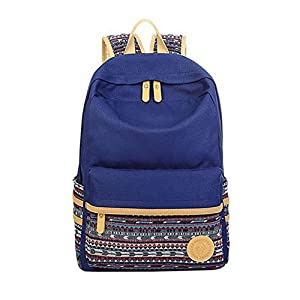 Girls Boys Backpack For School Book Bag Teens Canvas Sports Daypack By Hotu